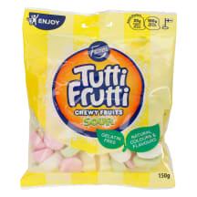 Kummikommid Chewy Fr. Sour Tutti Frutti 150g