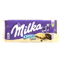 Baltā šokolāde Milka Oreo White 100g