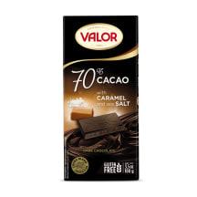 Tume šokolaad 70%, karam.&soolaga Valor 100g