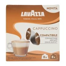 Kafijas kapsulas Lavazza Cappuccino 16x8g