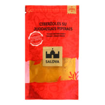 Ciberžolės su juodaisiais pipirais SALDVA,25g
