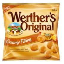 Koorekompvekid karamellitäidis. Werthers 135g