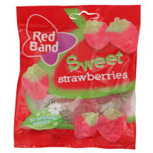 Želejkonf. Red Band sweet strawberries 100g
