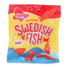 Želejkonfektes Red Band Swedish Fish 100g