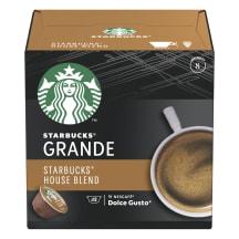 Kafijas kaps. Starbucks House Blend 12x8,5g