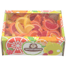 Marmelāde citrusaugļu daiviņas 650g