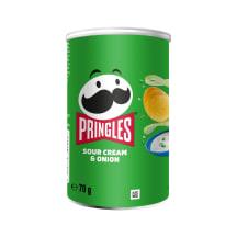 Krõpsud hapukoore-sibula maits. Pringles 70g