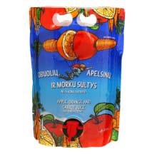 Obuol.,apels.ir morkų sultys VAISIŲ SULTYS,3l
