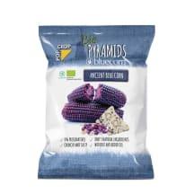 Kukurūzų traškučiai su ryžiais POPCROP, 80 g