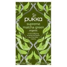 Zaļā tēja Pukka ar Matcha BIO 20x1,5g