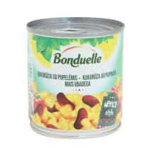 Kons. kukurūza/sark. pupiņas Bonduelle 212ml