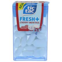 Dražejas Tic Tac Fresh ķiršu/mentola g. 11,9g