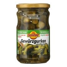 Marinuoti agurkėliai SUNTAT, 320 g