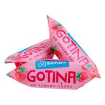 Piena konfekte Skrīveru Gotiņa zemeņu kg