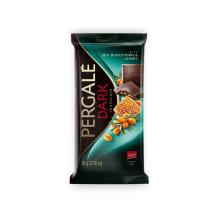 Tume šokolaad astelpaju ja meega Pergale 93g