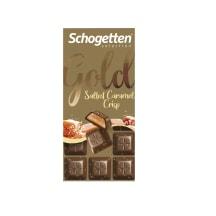 Šokoladas SCHOGETTEN GOLD SAL.CRIPS,100g