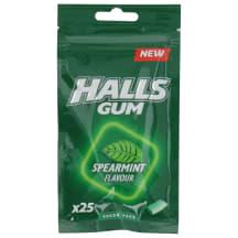 Kramtomoji guma HALLS SPEARMINT, 36,5 g