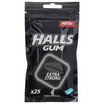 Kramtomoji guma HALLS EXTRA STRONG, 36,5 g