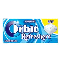 Kramt. guma ORBIT REFRESHERS PEPPERMINT,15,6g