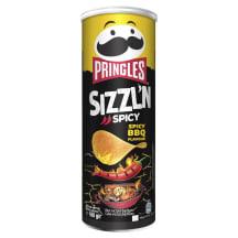 Čipsi Pringles Spicy Barbecue 160g