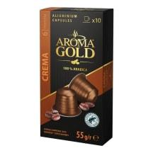 Kafijas kapsulas Aroma Gold Crema 10x5,5g