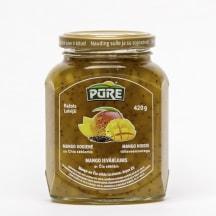 Ievārījums Pūre mango ar čia sēklām 420g