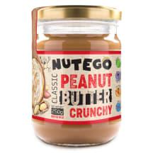Maapähklikreem pähklitükkidega Nutego 250g