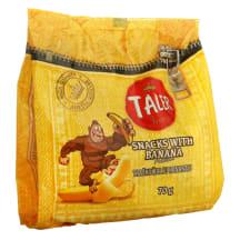 Traškučiai su bananais TALER, 70 g