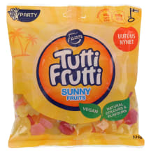 Kummikommid sunny fruits Tutti Frutti 325g