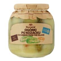 Kaimiški marinuoti agurkai DWOREK, 680 g