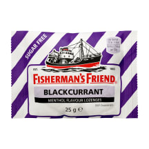 Pastillid mustsõstra Fisherman's Friend 25g