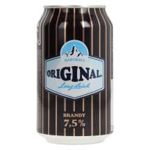 Muu alk.jook Hartwall Orig. Brandy 7,5% 0,33l