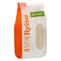 BASMATI ryžiai DOBELE, 800 g