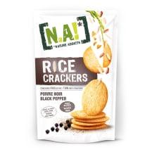 Riisikreekerid musta pipraga N.A! 70g