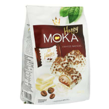 Vafliai su kavos kremo įdaru HAPPY MOKA, 140g