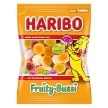 Kummikommid puuvilj. Fruity Bussi Haribo 200g