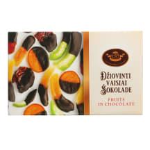 Džiovinti vaisiai šokolade AJ ŠOKOLADAS, 220g