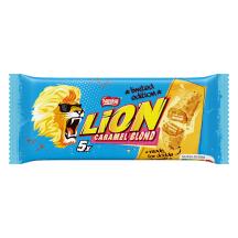 Šokolaadibatoon Lion Blond Nestle 5x30g