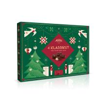 Valik šokolaadikomme 4 klassikut Kalev 480g