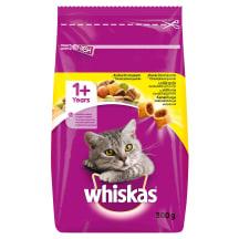 Kaķu barība Whiskas vistas dārzeņu 300g