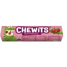 Braškių kramtomieji saldainiai, CHEWITS, 29g