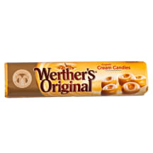 Grietinin. saldainiai WERTHER'S ORIGINAL, 50g
