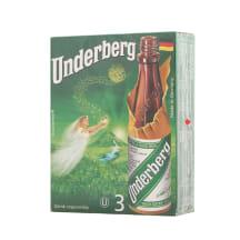 Bitter Kräuterbitter Underberg 44%vol 3x0,02l