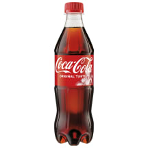 Gāzēts dzēriens Coca-Cola 0.5l