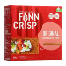 Ruginiai duonos traškučiai FINN CRISP, 200g