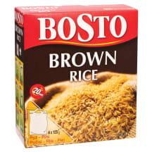 Rudieji ryžiai BOSTO, 500g