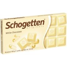 Šokoladas SCHOGETTEN WHITE, 100 g