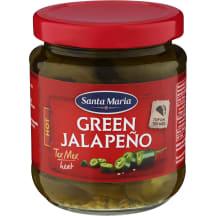 Zaļais halapenjo Santa Maria 215g
