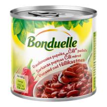 Pupiņas Bonduelle sarkanās čili mērcē 430g