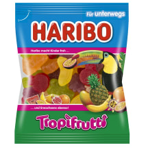 Želė saldainiai HARIBO TROPFRUT, 100g